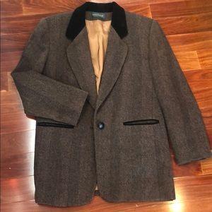 Vintage oversized harve Bernard wool blazer
